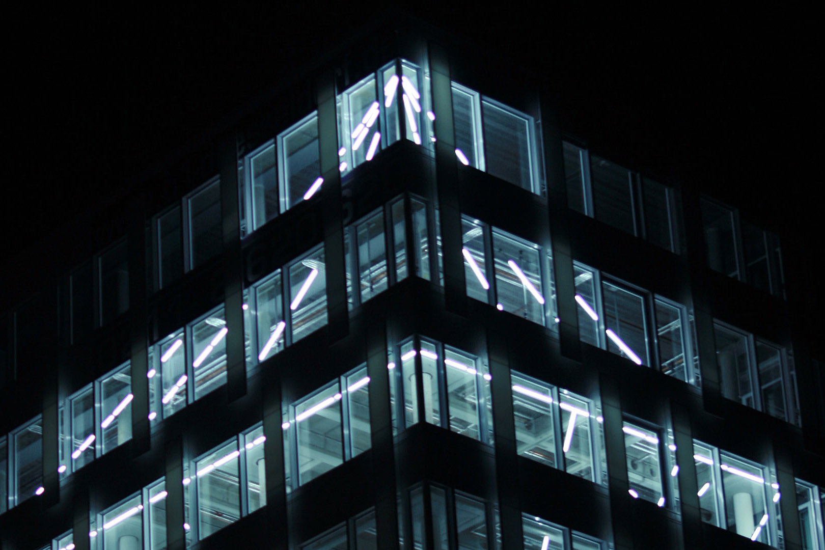Lichtkunst B1 Düsseldorf