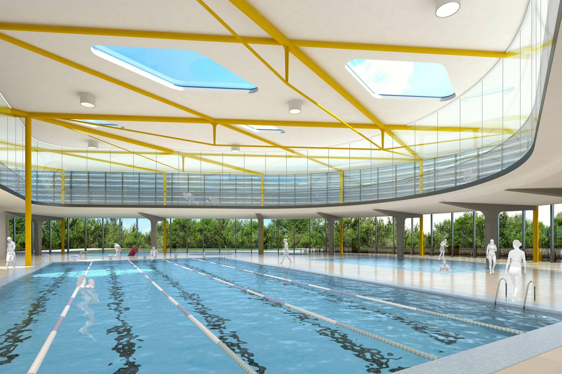 Eis- Schwimmstadion Köln FLD